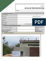 Acta de Aceptacion de Obra - ILOBS - Panel Fotográfico