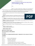 Reglamento de Seguridad para Instalaciones y Transporte de Gas Licuado de Petroleo