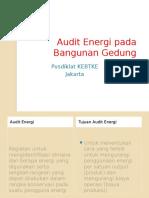 Audit Energi Pada Bngunan Gedung