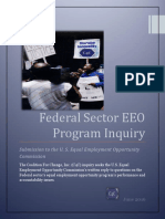 Federal Sector EEO Program Inquiry