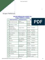 Bolivia_ Grupos Folklóricos