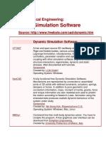 Free Mechanical Engineering Softwares