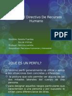 Perfil Del Directivo de Recursos Humano Presentación Xd