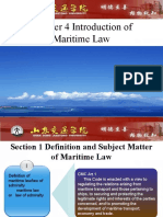 Introduction of Maritime Law
