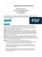 Setting Up Qmail Server on CentOS 6.5 x86_64
