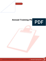 E7 Annual Training Plan Template