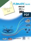 2016 Flomatic Valve Price List