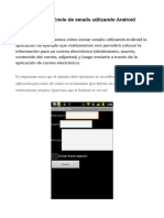 Tutorial Android Enviar Emails