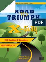 Road to Triumph q23 Practice