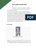 Procesos de Fabricacion Del Acero