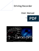 CaroO Driving Recorder v3.0.0 Manual Alpha