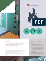 Cs Fire Door Maintenance Guide