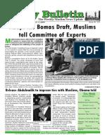 Friday Bulletin 319