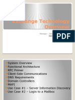 microsoftexchangetechnologyoverview-120302154657-phpapp01