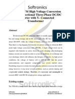 A Novel PWM High Voltage Conversion Ratio Bi