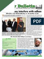 Friday Bulletin 323