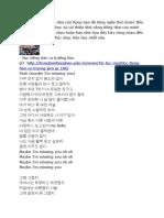 Tiếng Hàn Qua Bài Hát G-Dragon - Missing You.