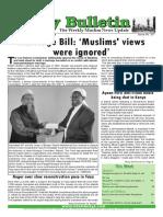 Friday Bulletin 337
