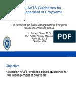 AATS Empyema Guidelines 2015 FINAL