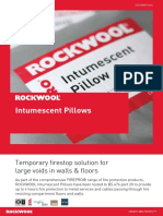 Rockwool Intumescent Pillows