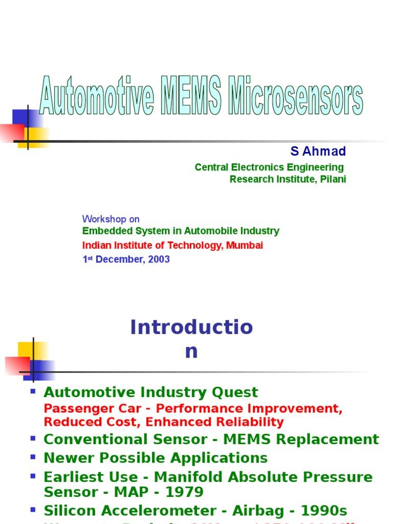 Ahmad Ceeri Auto Mems Accelerometer Airbag Shock Sensor Amplifier
