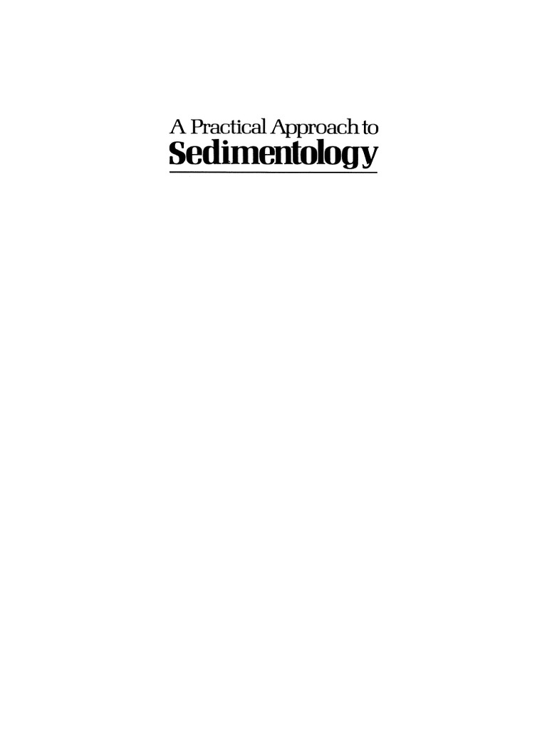 A practical approach to sedimentology roy c lindholm 1987 a practical approach to sedimentology roy c lindholm 1987 geo pedia pdf sedimentary rock sedimentology fandeluxe Image collections