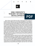 Theory of Identity Erikson