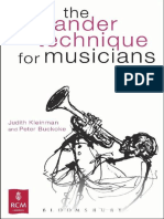 the alexander technique for musicians.epub