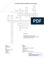 Clinicalterminology Documents Week2 Week 2 Crossword Puzzle