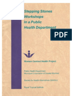 Stepping Stones Workshops in a Public Health Department