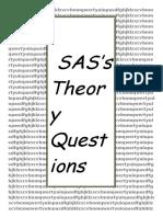 Sas Question