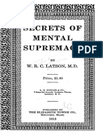 novel SecretsofMentalSupremacy