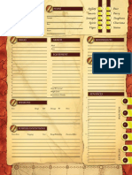 Space 1889 Character Sheet