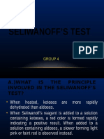 Seliwanoff s Test
