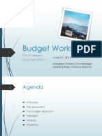 062116 Lakeport City Council budget workshop presentation