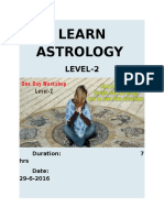 Learn Astrology level-2