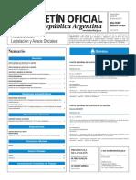 Boletín Oficial de la República Argentina, Número 33.404. 23 de junio de 2016