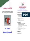 CS Users Manual v3.3
