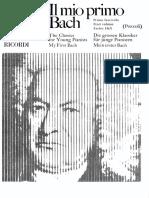 Il Mio Primo Bach Book 1 Piano