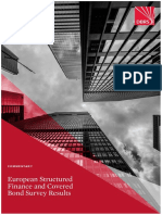 European Structured Finance and Covered Bond Survey Results