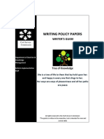 Writingpolicypapers Guide