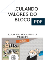 Calculando Valores Do Bloco