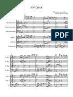 ENIGMA Wilson Laerte CORUJA - Score and Parts