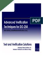 Advanced Verification Techniques for DO-254