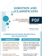 Promotion & Reclassification (2)
