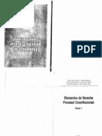 Elementos de Derecho Procesal Constitucional (Tomo i) - Valdez - Barone...