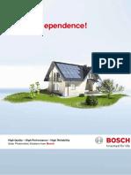 Bosch PV Net-Metering Brochure