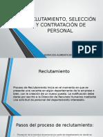 proceso de Reclutamiento, Selección y Contratación de Personal
