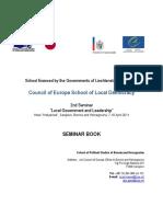 BiH Seminar Book