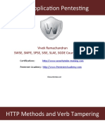 004 Http Methods and Verb Tampering